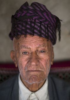 Kurdish Man, Palangan, Iran, by Eric Lafforgue, via Flickr