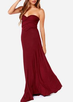 Beautiful Off The Shoulder Goddess Dress In 6 Colors on Luulla