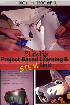 3 Little Pigs tale integrated with STEM and PBL! This Project Based Learning idea was a hit with my elementary students! They loved diving in to this project's problems and STEM challenges! The PBL activities are inquiry based and extremely engaging. Spring Activities, Stem Activities, Classroom Activities, Elementary Science, Teaching Science, Science Lessons, Upper Elementary, Learning Resources, Teacher Resources