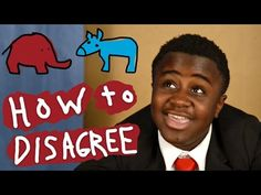 Kid President Is Over It! - YouTube -- How to Disagree with Others
