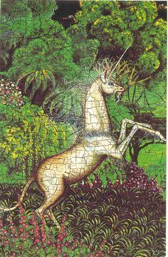 unicorn - 'Michael Green' from the book De Historia Et Veritate
