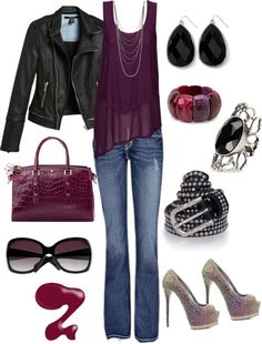 Rocker Chic...most of this is already in my closet