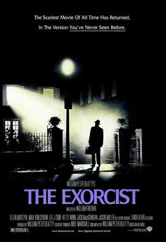 The Exorcist Movie Today's Throwback: The Exorcist Film Synopsis: When a teenage girl is possessed by a mysterious… Horror Movie Posters, Original Movie Posters, Cinema Posters, Exorcist Movie, The Exorcist 1973, Film Logo, Poster S, Movie Poster Art, Movies Wallpaper
