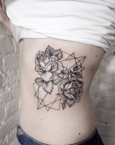 If you can't decide between something geometric or something floral, then combine the two!