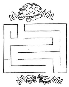 coloring Maze and labyrinth, page labyrinth animal Preschool Learning Activities, Kindergarten Worksheets, Book Activities, Preschool Activities, Mazes For Kids Printable, Printable Worksheets, Kids Mazes, Maze Worksheet, Activity Sheets For Kids