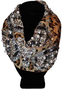 Leopard - Le Charlot Roarke  My next diy challege.