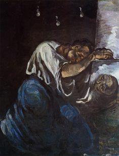 la_madelaine_ou_la_douleur_mary_magdalene_or_sadness. Mary Magadelene or Sorrow, 1869 by Paul Cezanne Cezanne Art, Paul Cezanne Paintings, Musée D'orsay Paris, Paris France, Oil Canvas, Canvas Art Prints, Renoir, Oil Painting Gallery, Art Gallery
