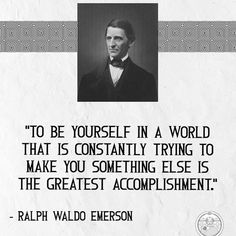 """Huey on Instagram: """"Keep doing you! #philosophuey"""" Ralph Waldo Emerson, Words, Quotes, Instagram, Qoutes, Dating, Quotations, Shut Up Quotes, Horse"""