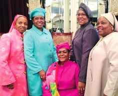 Beautiful Women in Nation of Islam