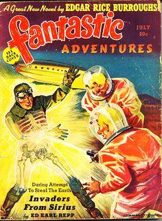 Fantastic, July. #vintage comics covers