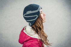 A warm handmade hat that you can match with practically anything in your closet.