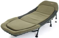 Cyprinus Memory Foam bed chair bedchair for carp fishing, put me up bed or luxury camping chair or guest bed 6 leg bedchair: Amazon.co.uk: Sports & Outdoors