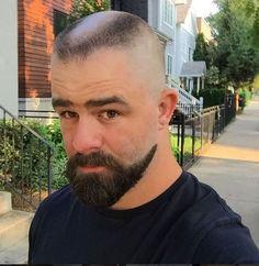 "underlinedparts: ""i'm pretending this is Mac from It's Always Sunny… "" Grey Beards, Long Beards, Forced Haircut, Beard Images, Goatee Beard, Flat Top Haircut, Bald With Beard, Epic Beard, Beard Styles For Men"