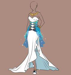 Fashion Adoptable Auction 26 - CLOSED by Karijn-s-Basement.deviantart.com on @DeviantArt