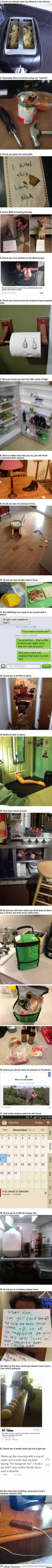 22 Pictures That Prove Drunk You Is The Absolute Worst… Or The Best?