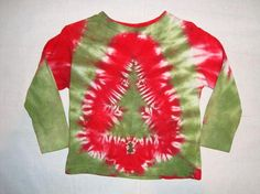 Christmas tree tie dye @Mary Stover (as if I need to tag you)