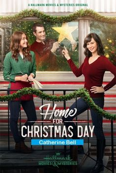 """Find video, photos and cast information for the Hallmark Movies & Mysteries movie """"Home for Christmas Day"""" starring Catherine Bell and Victor Webster. Family Christmas Movies, Hallmark Christmas Movies, Family Movies, Christmas Home, Holiday Movies, Christmas Carol, Películas Hallmark, Films Hallmark, Hallmark Channel"""
