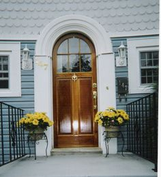 Custom Wood Doors; interior, exterior, french, arch top, storm, screen, millwork