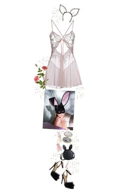 """""""♡ HAPPY EASTER ♡"""" by heartbreakmotel ❤ liked on Polyvore featuring Miss Naory, Marc Jacobs, OKA, Christian Dior, Maison Michel and vintage"""