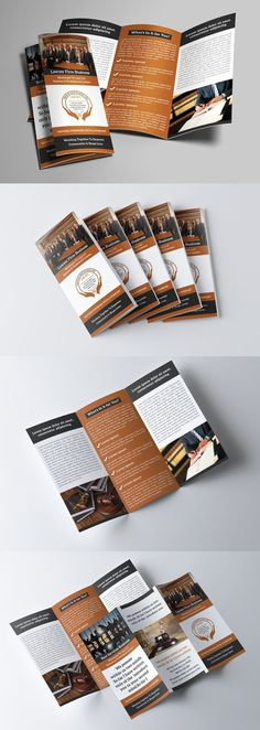 Classic Law Firm Brochure Template design Pinterest - law firm brochure