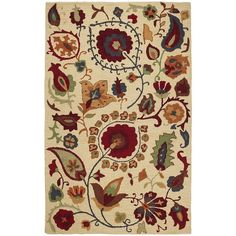 Pier 1 Imports Suzani Floral Rug by None, via Polyvore