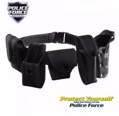Police Force Tactical Duty Belt SWAT Durable #lawenforcement #LawEnforcementOfficer #SecurityGuard Free Shipping