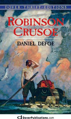 Robinson Crusoe by Daniel Defoe - Dover Publications Inc. - ISBN 10 0486404277 - ISBN 13 0486404277 - Preparing Robinson Crusoe by Daniel… Robinson Crusoe, English Novels, Daniel Defoe, Classic Literature, Children's Literature, Classic Books, Dover Publications, Used Books, Fiction Books