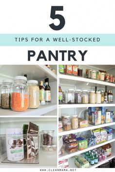 A well-stocked pantry makes cooking and baking easier and it keeps the kitchen running smoothly – I love having a well-stocked pantry. With three always hungry children, I have found that there are a couple things that really help us keep the pantry stocked, easy to access, and simple to see what we have and... (read more...)