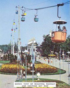 Sky Ride Cedar Point, Loved Cedar Point as a kid. Cedar Point Ohio, Marblehead Ohio, Sky Ride, Best Amusement Parks, Sandusky Ohio, The Last Summer, Great America, The Buckeye State, Park Resorts