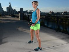 Master the Pumpkin Picker exercise to tighten your hamstrings—a favorite workout move from Erin Oprea, Carrie Underwood's personal trainer. Running Workouts, Easy Workouts, Butt Workouts, Workout Routines, Erin Oprea, Carrie Underwood Workout, Tight Hamstrings, Glutes, Hamstring Workout