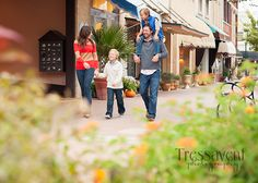 Family Fall session in Downtown Mckinney