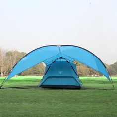 Wholesale Short Set - Buy Large Triangular Shade Canopy Tent Outdoor Beach Barbecue Shed Rain Camping Tent Camping, $91.63 | DHgate