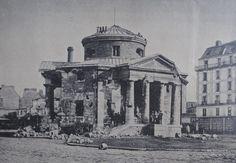 Paris - Rotonde de la barrière du Combat, mai 1871