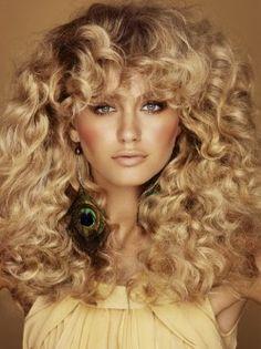 Dewy skin & big hair | So 70's