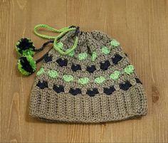 I Heart the Seahawks Messy Bun Crochet by SewCraftyCrochetShop