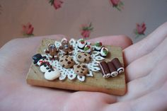 Miniature Christmas Cookie Tray