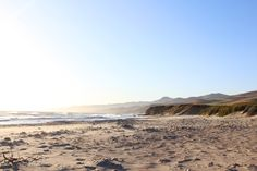 Overexposed skies at Jalama Beach County Park