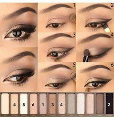 Макияж Naked Palette, Colorful Eyeshadow, Eye Makeup Tips, Bright Eyeshadow