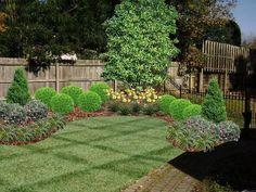 corner landscaping designs