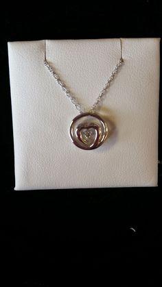 TJ's Fine Jewelry: Valentine's Day ideas: S.S. shimmering diamond hea...