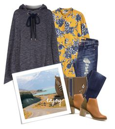 """""""Enjoy!"""" by musicfriend1 ❤ liked on Polyvore featuring MANGO, See by Chloé, Tory Burch and Miista"""
