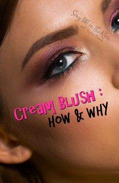 How to apply cream blush on your face so it looks best & natural is a common question. Here is a tutorial on how to wear it with makeup and WHY it makes a difference.   #blush #makeup #senegence #creamblush #blending #cosmetics #glow