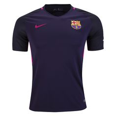 Barcelona 16/17 Away Soccer Jersey ☆ 2016/17 UEFA Champions League ☆ The Jerseys, Apparel & Gear available now at WorldSoccerShop.com