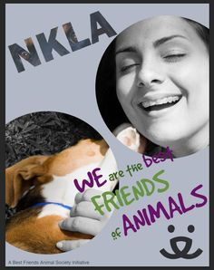 NKLA Ad Campaign Poster (1 of 6) Campaign Posters, Animal Society, Design Projects, My Design, Best Friends, Ads, Good Things, Movie Posters, Animals