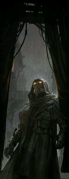 The art of barren, overgrown, devastated or post apocalyptic landscapes and the characters, tech and monsters found within. Character Concept, Character Art, Concept Art, Sci Fi Fantasy, Dark Fantasy, Sci Fi Kunst, Science Fiction, Rpg Cyberpunk, Arte Steampunk