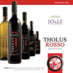 THOLUS ROSSO IGP PUGLIA. www.jo-le.com