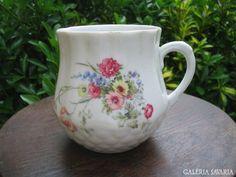 Old hungarian  porcelain mug, Zsolnay, Pécs