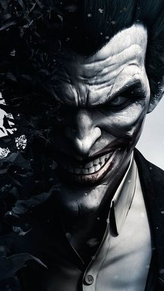 Joker in Batman Arkham Origins - The iPhone Wallpapers Batman Arkham Origins, Batman Arkham City, Le Joker Batman, Joker Arkham, The Joker, Joker Game, Joker And Harley Quinn, Batman Book, Kids Batman