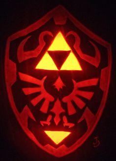 Geek Art Gallery: Quick Pic: Hylian Pumpkin