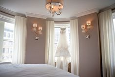 The luxurious Bridal suite is a perfect place for the bride and her attendants to get ready in and then to spend your first night of married life in.  The Georgian Terrace Hotel.